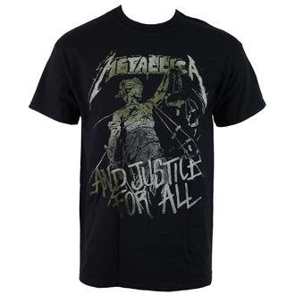 metál póló férfi Metallica - Vintage Justice - NNM, NNM, Metallica