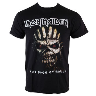 metál póló férfi Iron Maiden - Book Of Souls - ROCK OFF, ROCK OFF, Iron Maiden