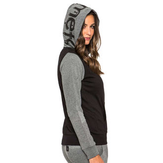kapucnis pulóver női - Jordan - METAL MULISHA - BLK