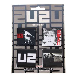 jelvények U2, C&D VISIONARY, U2