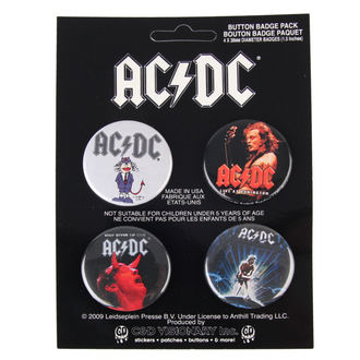 jelvények AC / DC - Logo, C&D VISIONARY, AC-DC