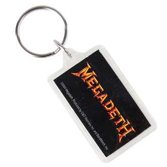 kulcstartó (kulcstartó) Megadeth - Logo, C&D VISIONARY, Megadeth