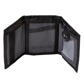 MEATFLY Pénztárca - ARROW - E - 1/26/55 - Hanga szürke Fekete, MEATFLY