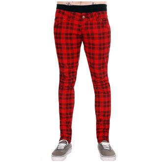 3RDAND56th férfi nadrág - Feladott - Black / Red, 3RDAND56th