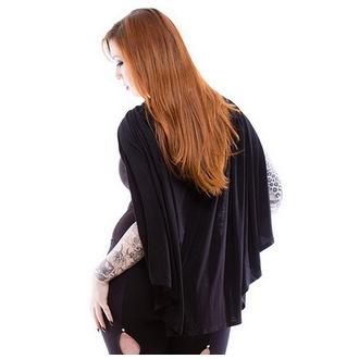 kapucnis pulóver női - Gothic Dunne - NECESSARY EVIL, NECESSARY EVIL