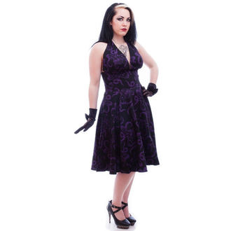 NECESSARY EVIL női ruha - Feronia 50s - Black, NECESSARY EVIL