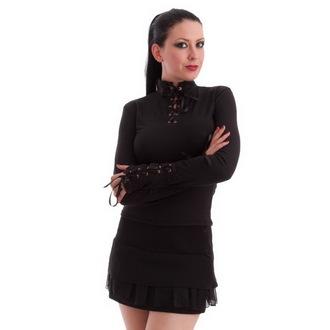 gót és punk póló női - Black - MILISHA, MILISHA