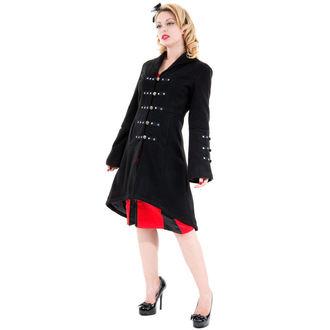 kabát női tavaszi-őszi HEARTS AND ROSES - Reinkarnáció Black, HEARTS AND ROSES