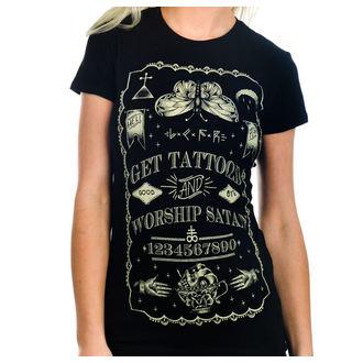 gót és punk póló női - Get Tattooed & Worship Sa - TOO FAST, TOO FAST