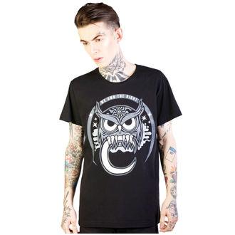 hardcore póló férfi - Owl - DISTURBIA, DISTURBIA