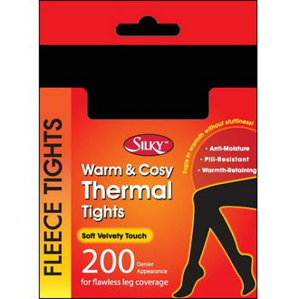 harisnyanadrág téli (thermo) LEGWEAR - Selymes - Black, LEGWEAR