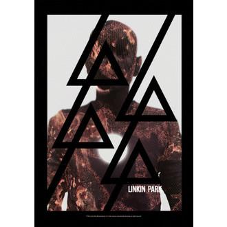 zászló Linkin Park - Living - Burn It, HEART ROCK, Linkin Park