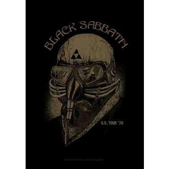 zászló Black Sabbath - US Tour 78 - HFL1164
