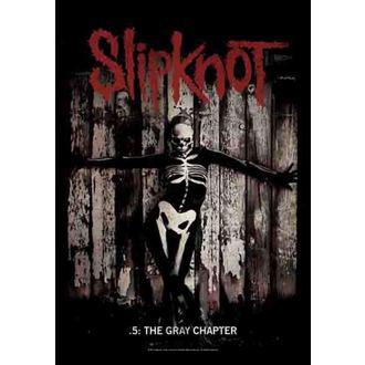 zászló Slipknot - The Gray Chapter, HEART ROCK, Slipknot