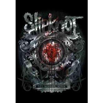 zászló Slipknot - Des Moines, HEART ROCK, Slipknot