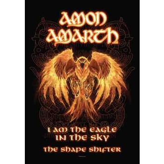 zászló Amon Amarth - Burning Eagle, HEART ROCK, Amon Amarth