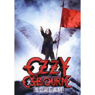zászló Ozzy Osbourne - Scream, HEART ROCK, Ozzy Osbourne