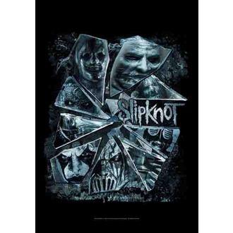 zászló Slipknot - Broken Glass, HEART ROCK, Slipknot