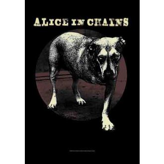 zászló Alice In Chains - Grin, HEART ROCK, Alice In Chains