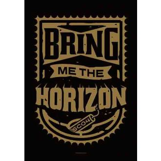 zászló Bring Me The Horizon - Dynamite Shield, HEART ROCK, Bring Me The Horizon