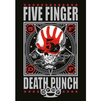 zászló Five Finger Death Puncs - Punchagram, HEART ROCK, Five Finger Death Punch