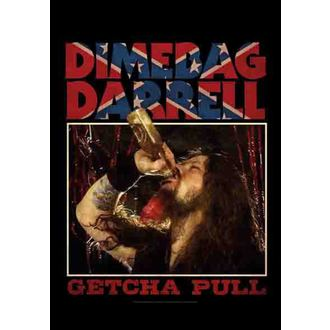 zászló Dimebag Darrel - Getcha Pull, HEART ROCK, Dimebag Darrell