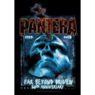 zászló Pantera - Messze Beyond 20th Anniversary, HEART ROCK, Pantera