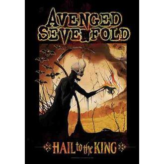 zászló Avenged Sevenfold - Reaper, HEART ROCK, Avenged Sevenfold