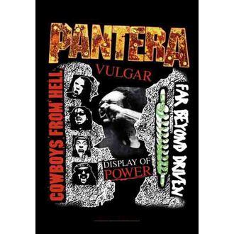 zászló Pantera - 3 Albums, HEART ROCK, Pantera