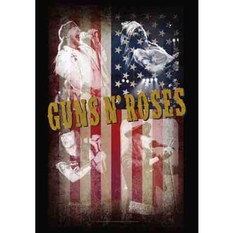 zászló Guns N'Roses - Collage, HEART ROCK, Guns N' Roses