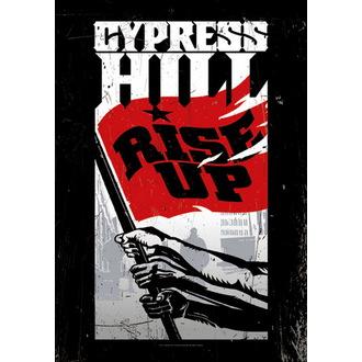 zászló Cypress Hill - Rise Up, HEART ROCK, Cypress Hill