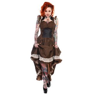 BANNED női ruha - Brown Stripe, BANNED