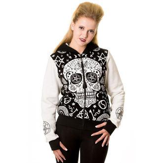 kapucnis pulóver női - Black - BANNED, BANNED