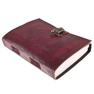 jegyzet blokk Pentagram Leather Journal