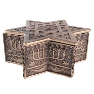 doboz (dekoráció) Star of David & Menóra
