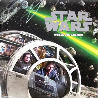naptár  év 2016 - Star Wars