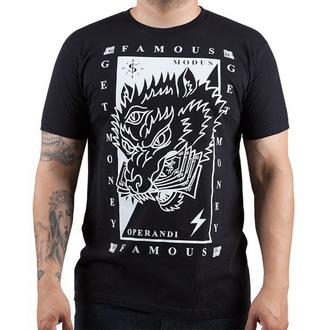 utcai póló férfi - Wolf Money - FAMOUS STARS & STRAPS, FAMOUS STARS & STRAPS