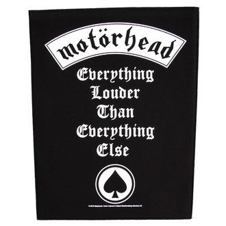 felvarró nagy Motörhead - Everything Hangosabb - RAZAMATAZ, RAZAMATAZ, Motörhead