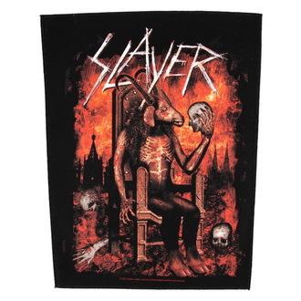 felvarró nagy Slayer - Devil On Throne - RAZAMATAZ, RAZAMATAZ, Slayer