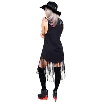 IRON FIST női ruha - Throne Fringe - Black