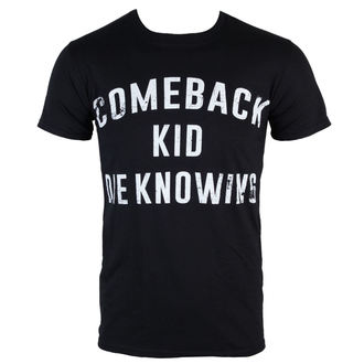 metál póló férfi Comeback Kid - Die Knowing - KINGS ROAD, KINGS ROAD, Comeback Kid