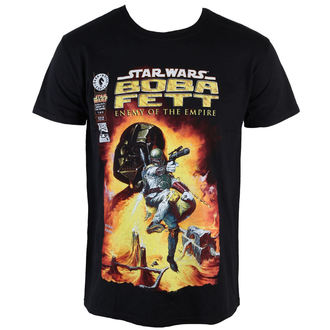 Star Wars férfi póló - Boba Fett - PLASTIC HEAD, PLASTIC HEAD, Star Wars