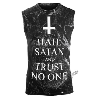 felső Férfi AMENOMEN - HAIL SATAN AND TRUST NO ONE, AMENOMEN