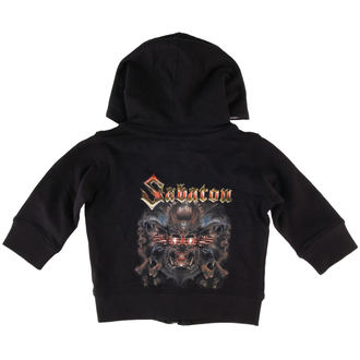kapucnis pulóver gyermek Sabaton - Metalizer - Metal-Kids, Metal-Kids, Sabaton