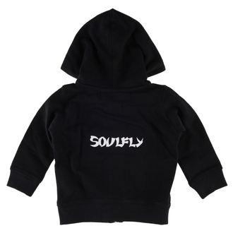kapucnis pulóver gyermek Soulfly - Logo - Metal-Kids - MK201