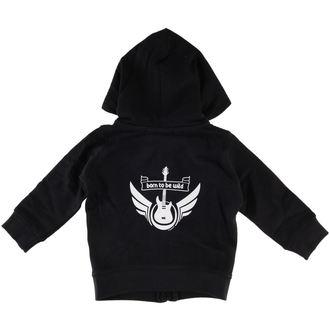 kapucnis pulóver gyermek - Born To Be Wild - Metal-Kids