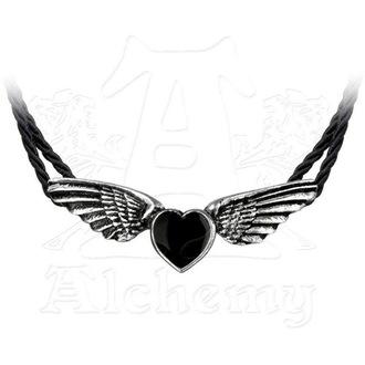 ALCHEMY GOTHIC nyaklánc - Coeur Noir, ALCHEMY GOTHIC