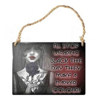 ALCHEMY GOTHIC fém kártya - Megyek Stop Visel Black, ALCHEMY GOTHIC