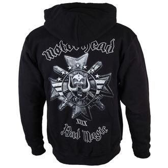 kapucnis pulóver férfi Motörhead - Bad Magic - ROCK OFF