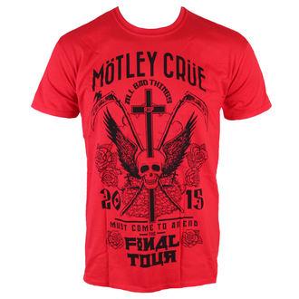metál póló férfi Mötley Crüe - Final Tour Tattoo - ROCK OFF, ROCK OFF, Mötley Crüe
